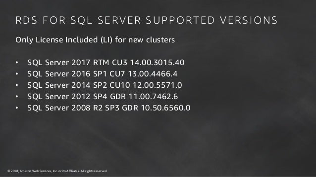 Oracle and SQL Server on the Cloud