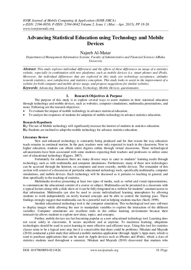 statistics education research journal