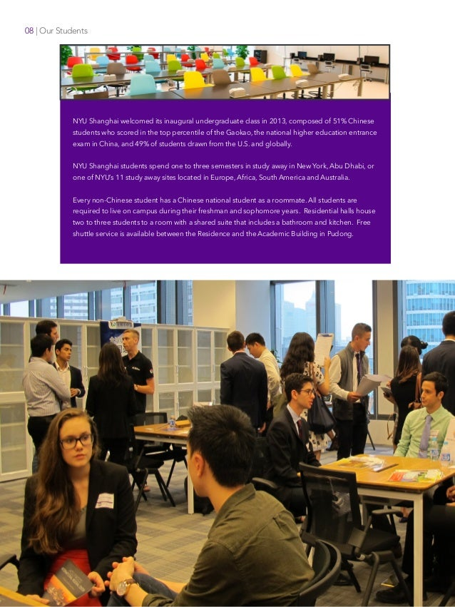 Offices of Faculty Affairs Faculty Recruitment NYU Shanghai New York University 08   Our Students NYU Shanghai welcomed it...