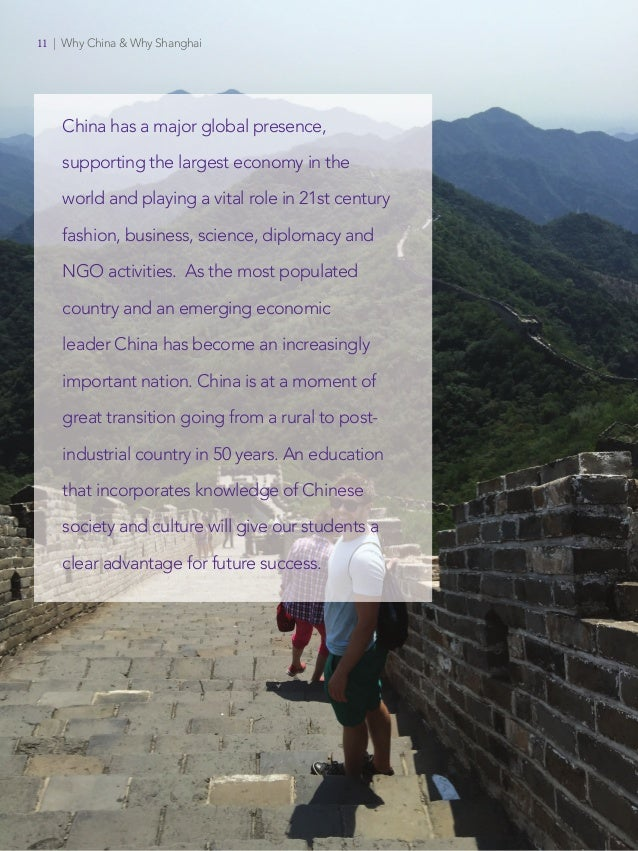 Offices of Faculty Affairs Faculty Recruitment NYU Shanghai New York University 11   Why China & Why Shanghai China has a m...