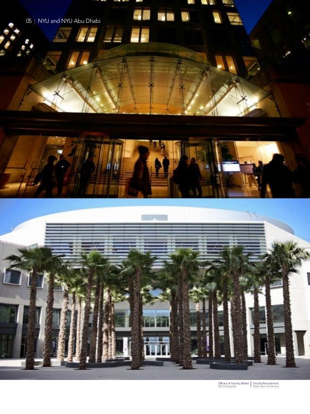 Offices of Faculty Affairs Faculty Recruitment NYU Shanghai New York University 05   NYU and NYU Abu Dhabi