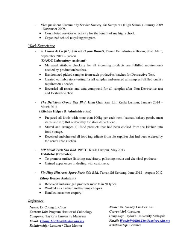 Cover Letter And Resume 2