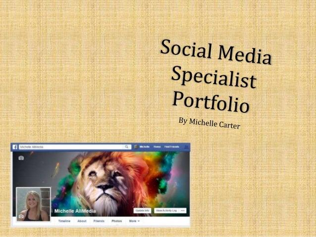 Social Media Specialist Portfolio