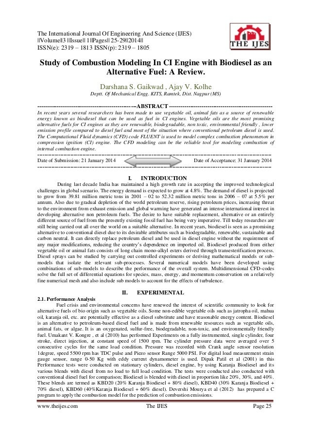 The International Journal Of Engineering And Science (IJES) ||Volume||3 ||Issue|| 1||Pages|| 25-29||2014|| ISSN(e): 2319 –...