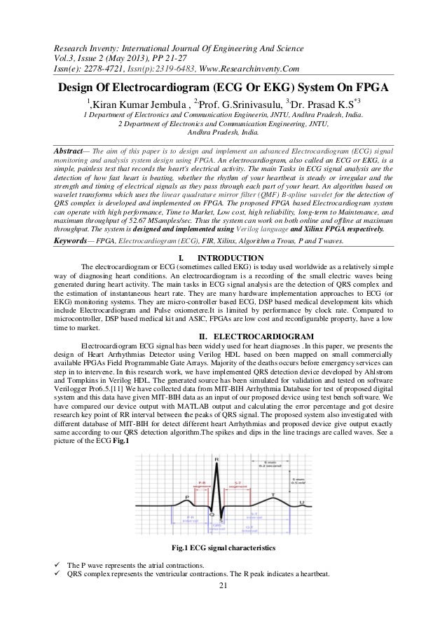 Research Inventy: International Journal Of Engineering And ScienceVol.3, Issue 2 (May 2013), PP 21-27Issn(e): 2278-4721, I...