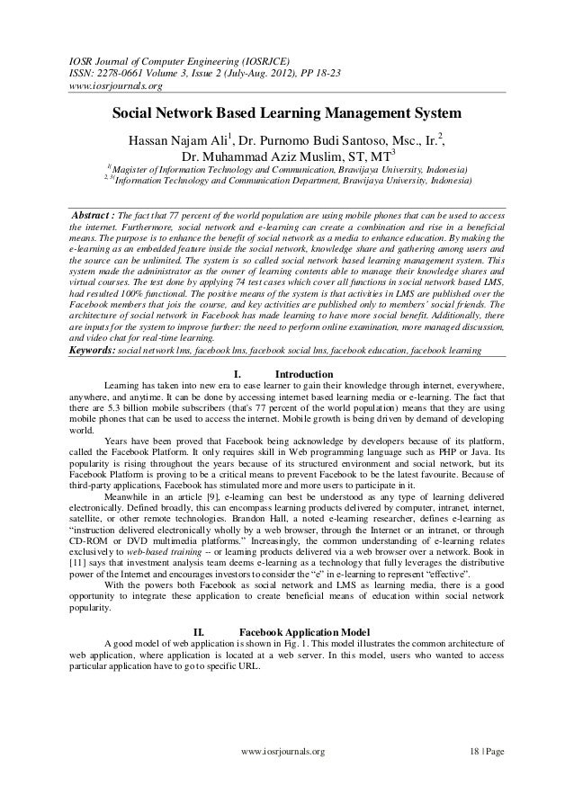 IOSR Journal of Computer Engineering (IOSRJCE) ISSN: 2278-0661 Volume 3, Issue 2 (July-Aug. 2012), PP 18-23 www.iosrjourna...