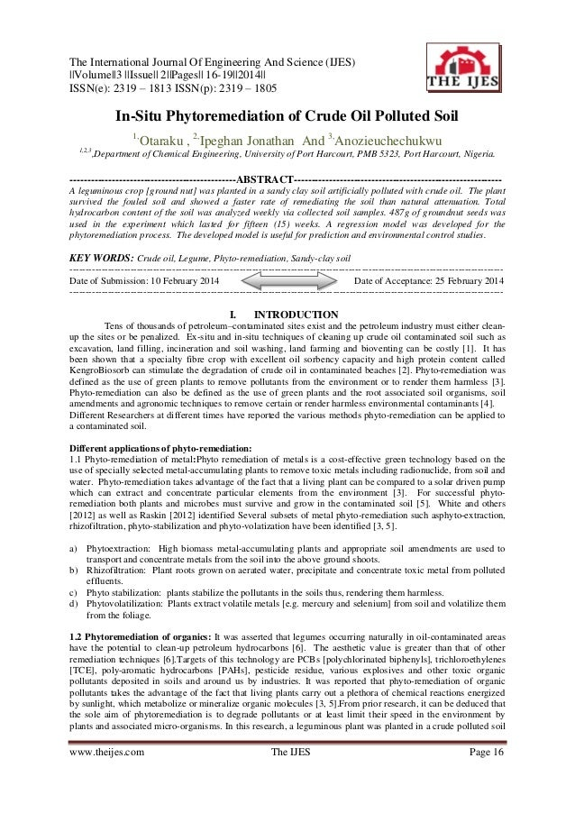 The International Journal Of Engineering And Science (IJES) ||Volume||3 ||Issue|| 2||Pages|| 16-19||2014|| ISSN(e): 2319 –...