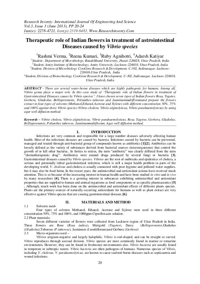 Research Inventy: International Journal Of Engineering And Science Vol.3, Issue 3 (June 2013), PP 20-24 Issn(e): 2278-4721...