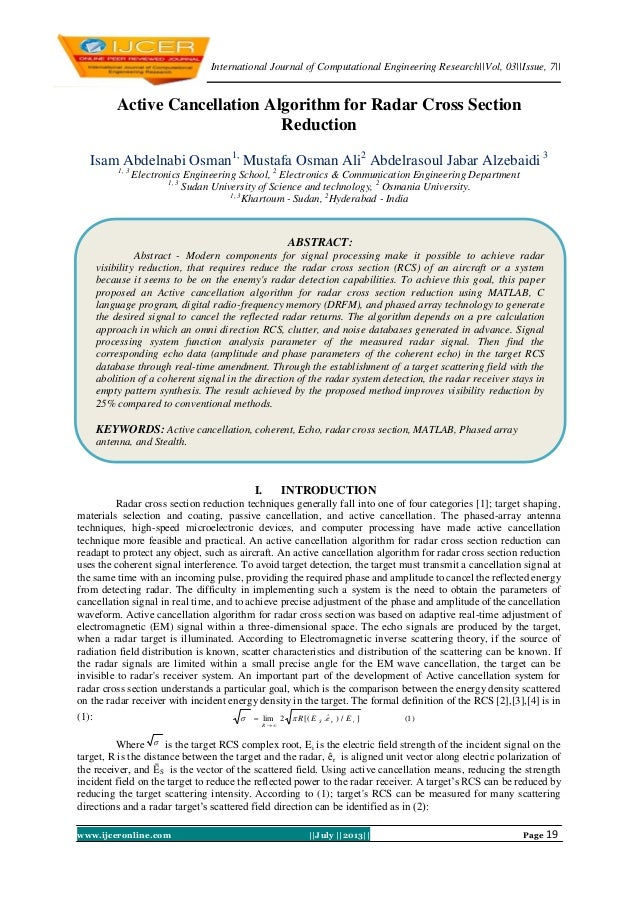 International Journal of Computational Engineering Research||Vol, 03||Issue, 7|| www.ijceronline.com ||July ||2013|| Page ...