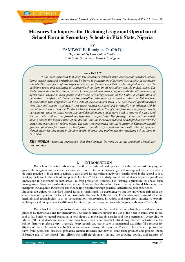 International Journal of Computational Engineering Research  Vol, 03  Issue, 7     Issn 2250-3005      July  2013   Page 2...