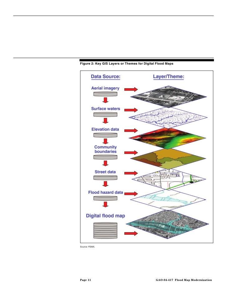 Gao 04 417 flood map modernization program strategy shows promise flood map modernization 15 publicscrutiny Gallery