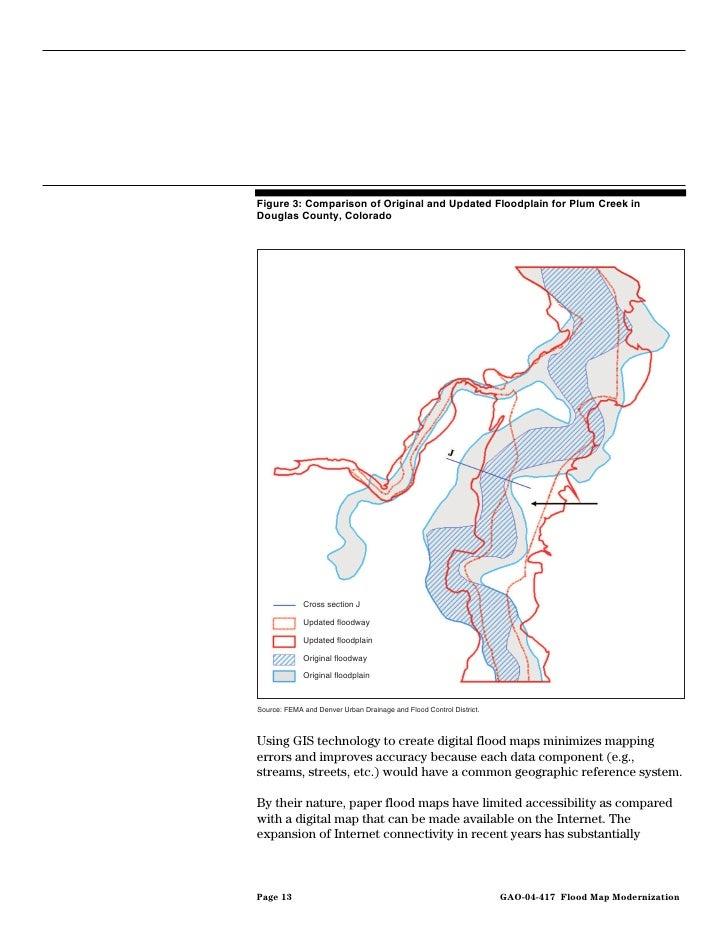 Gao 04 417 flood map modernization program strategy shows promise flood map modernization 17 publicscrutiny Gallery