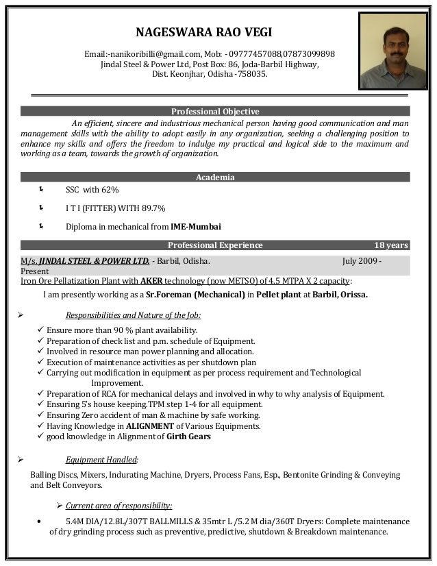 Resume Nageswararao 1 1