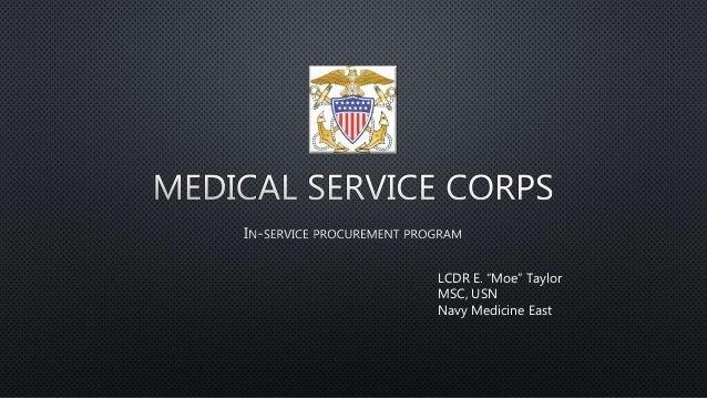 """LCDR E. """"Moe"""" Taylor MSC, USN Navy Medicine East"""