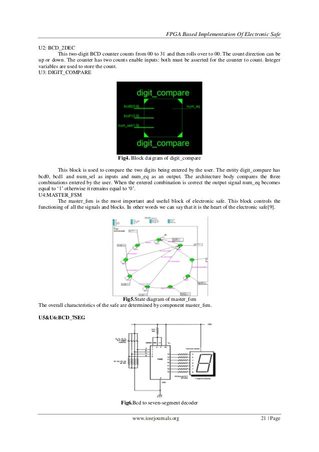 fpga based implementation of electronic safe lock