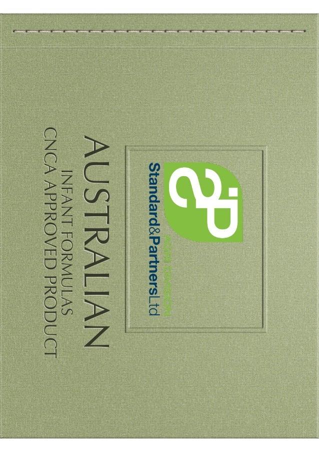 AUSTRALIAN INFANTFORMULAS CNCAAPPROVEDPRODUCT