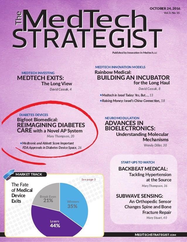 Bigfoot in MedTech Strategist