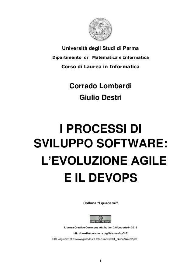 1 Università degli Studi di Parma Dipartimento di Matematica e Informatica Corso di Laurea in Informatica Corrado Lombardi...