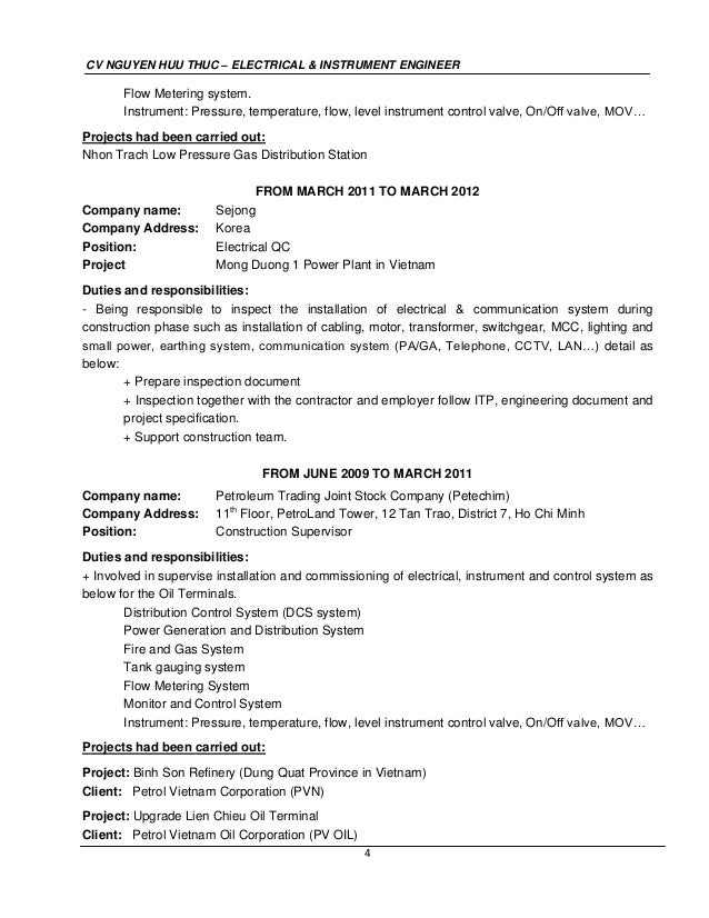 Resume CV Cover Letter. bullet points are achievement oriented ...