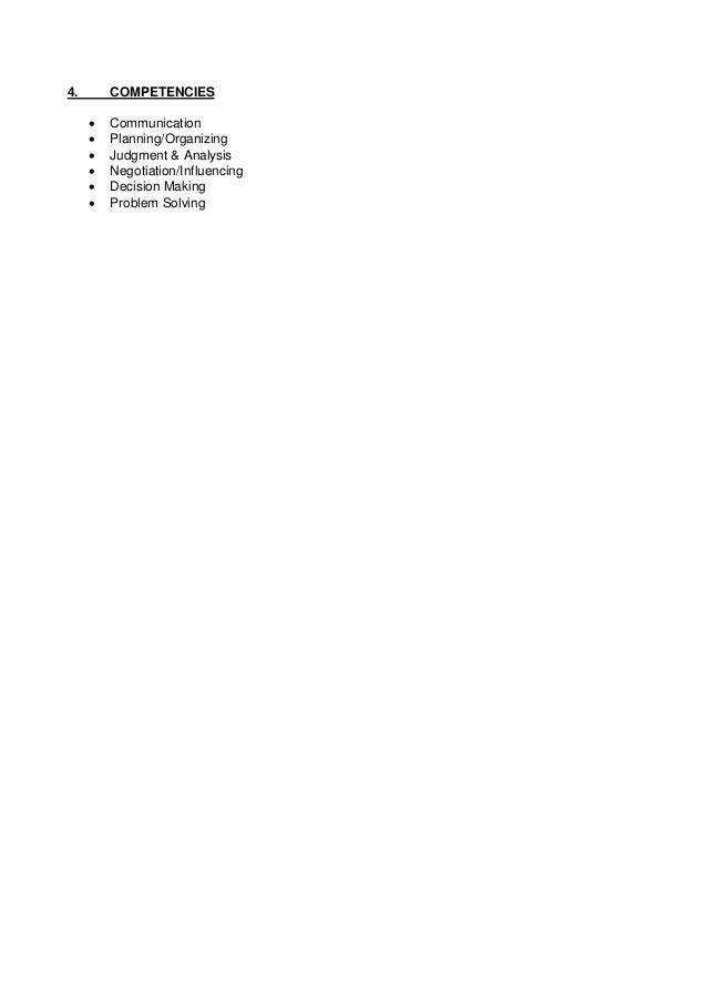Job Description - Marketing and E-Commerce Executive