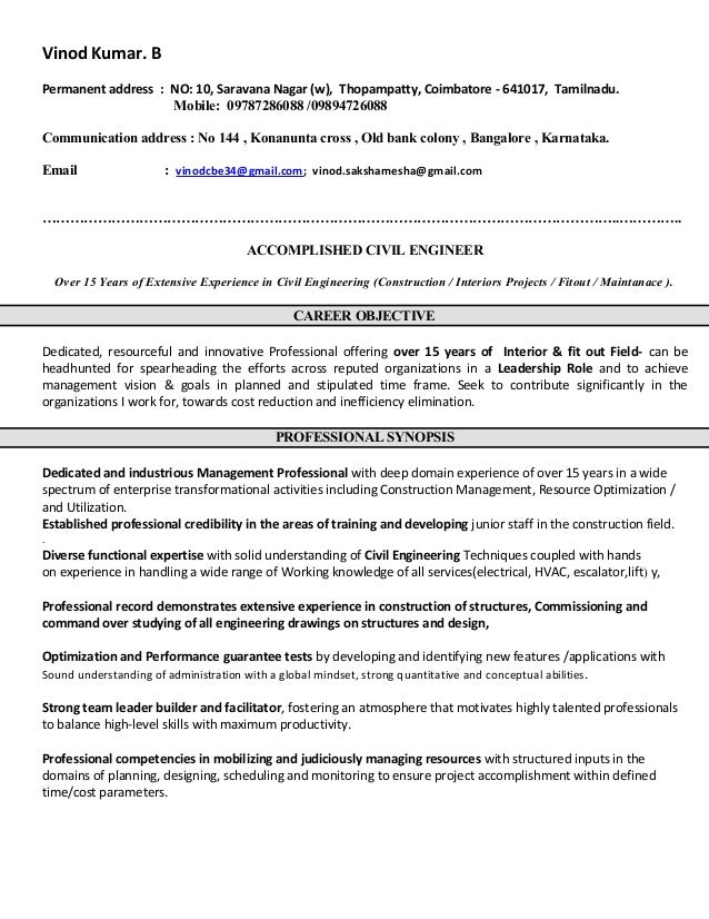 Vinod Revised Resume 2