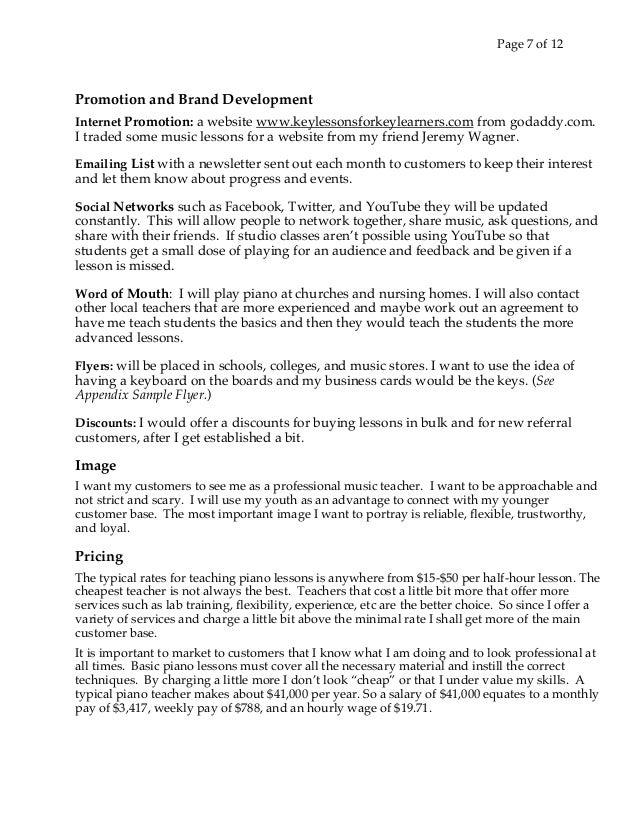 Music Lesson Flyer Template Mersnoforum