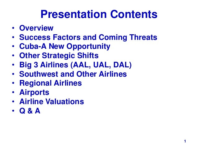 an overview of the strategic planning of southwest airlines Southwest airlines appears to be moving closer to forging interline  southwest  airlines director of international planning steven swan, at capa's latin america  aviation summit  southwest airlines fleet summary as of 25-sep-2017   however, southwest is also carefully crafting a longer term strategy for.