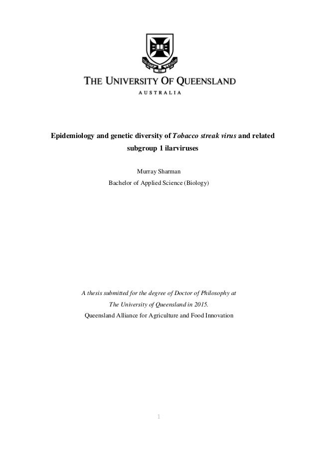 Richard murray phd thesis