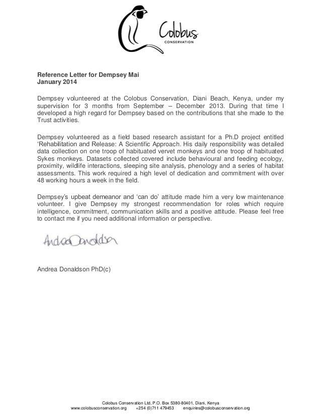 Reference Letter For Volunteer from image.slidesharecdn.com
