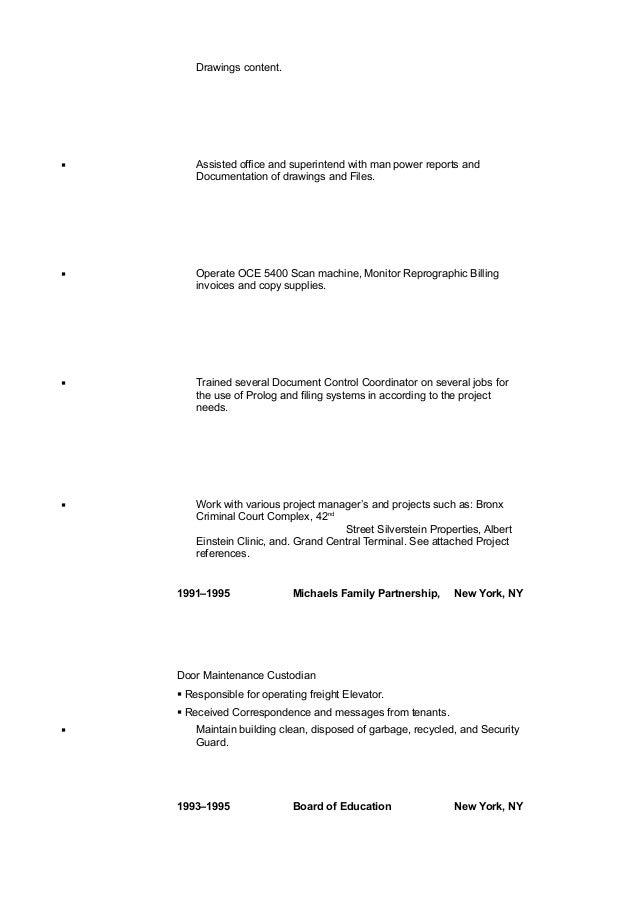 resume update 2017