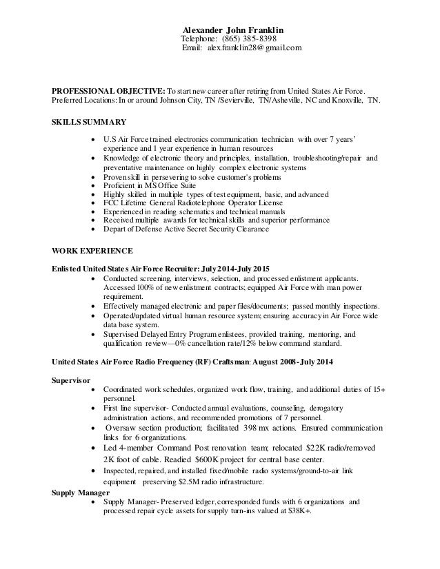 how to build up a resumes