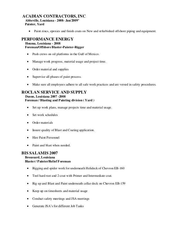 Resume SlideShare