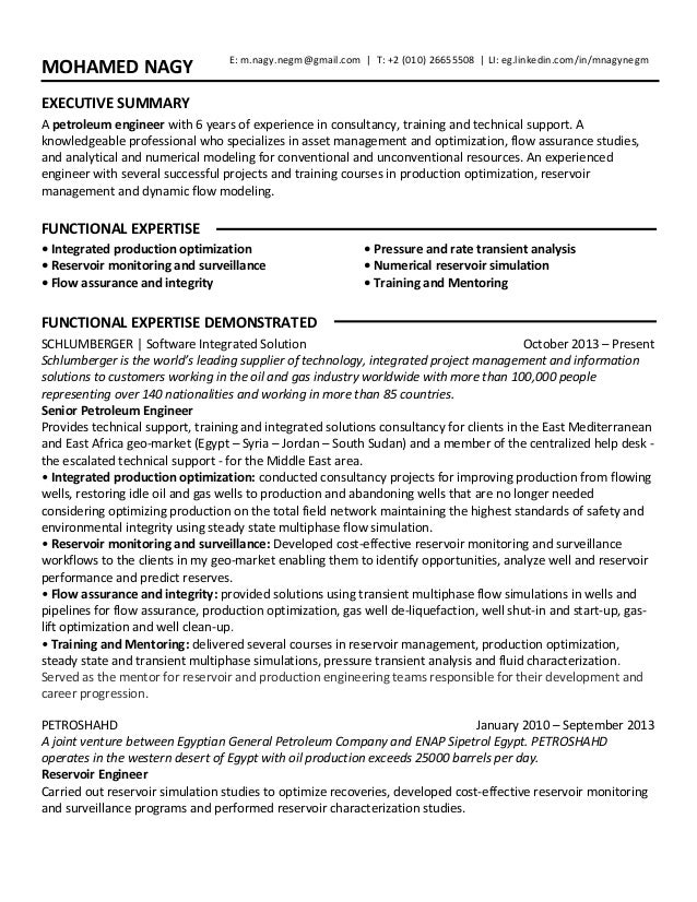 awesome petroleum engineering resume images simple resume office