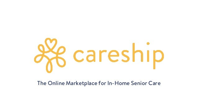 The Online Marketplace for In-Home Senior Care