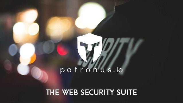 THE Web SECURITY SUITE