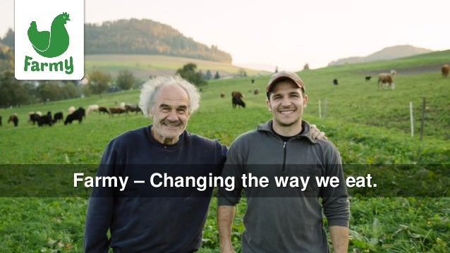 Farmy – Changing the way we eat.