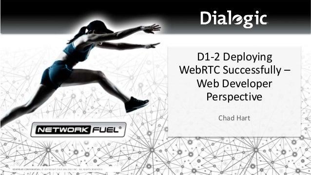 Deploying WebRTC successfully