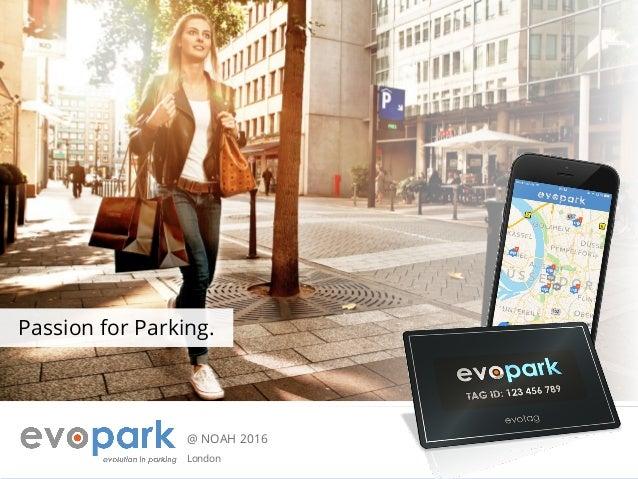 @ NOAH 2016 London Passion for Parking.