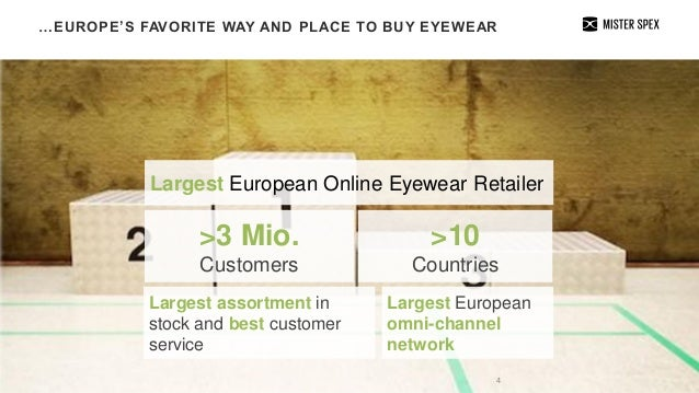 e3c1735334 …EUROPE S FAVORITE WAY AND PLACE TO BUY EYEWEAR 4 Largest ...