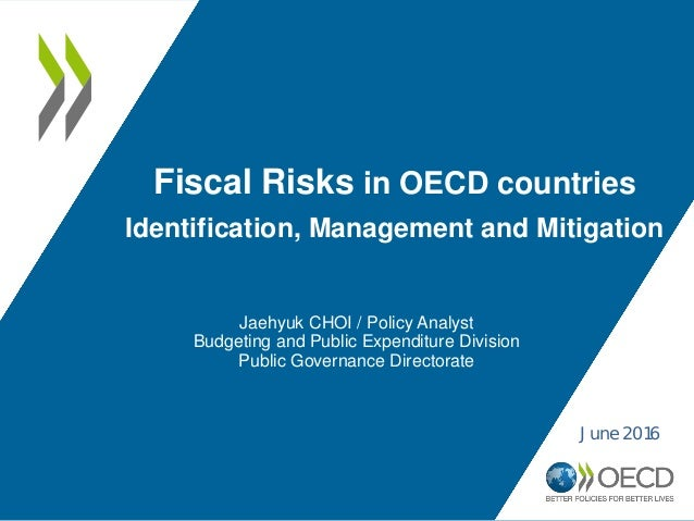 Fiscal risks in OECD countries: identification management