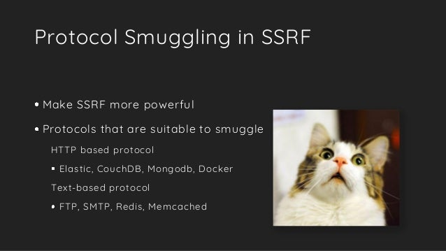 A New Era of SSRF - Exploiting URL Parser in Trending Programming Lan…
