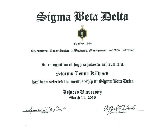 Sigma Beta Delta