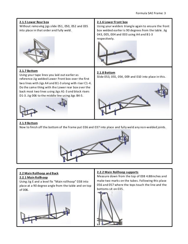 Technical Instructions Fsae