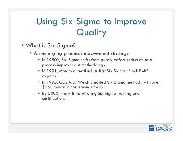 Improving Pharmacy Quality Using Six Sigma