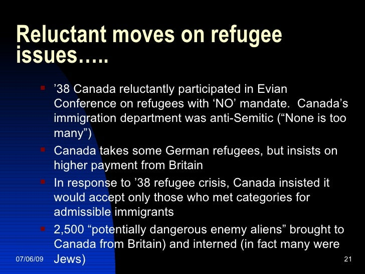 canadas immigration history For most of canada's history, the four western provinces—british columbia, alberta, saskatchewan, and manitoba—have been resource-rich meanwhile, the eastern metros—including canada's.
