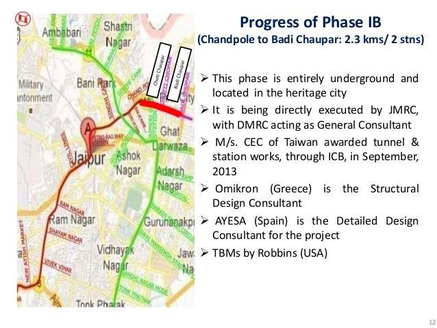 Jaipur Metro Map Pdf