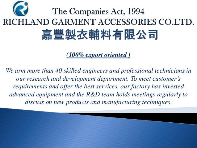 (100% export oriented ) We arm more than 40 skilled engineers and professional technicians in our research and development...