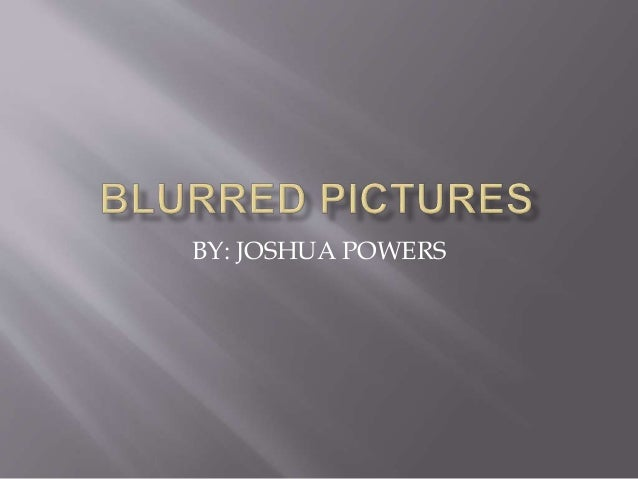 BY: JOSHUA POWERS