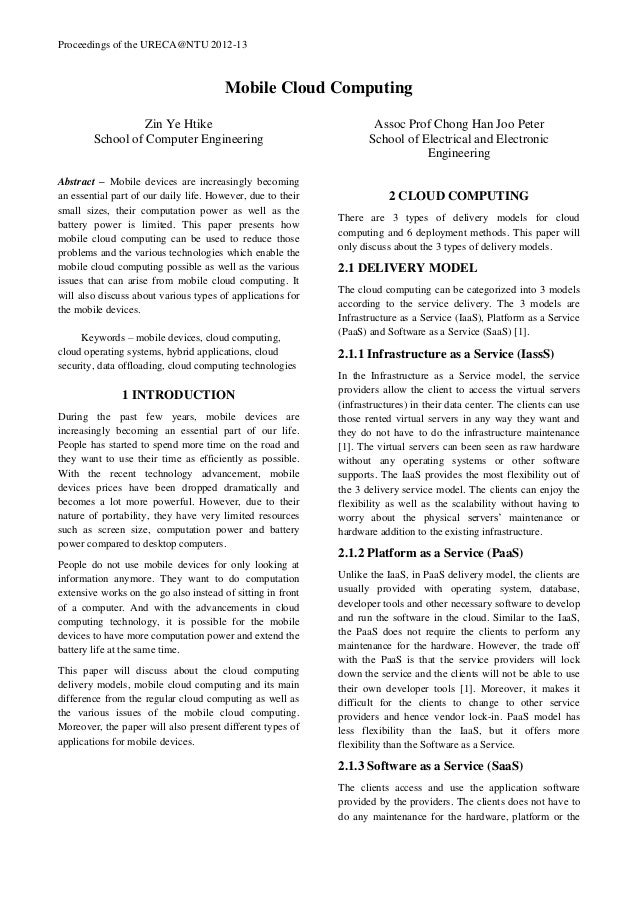 Computer research papers phd thesis cover letter