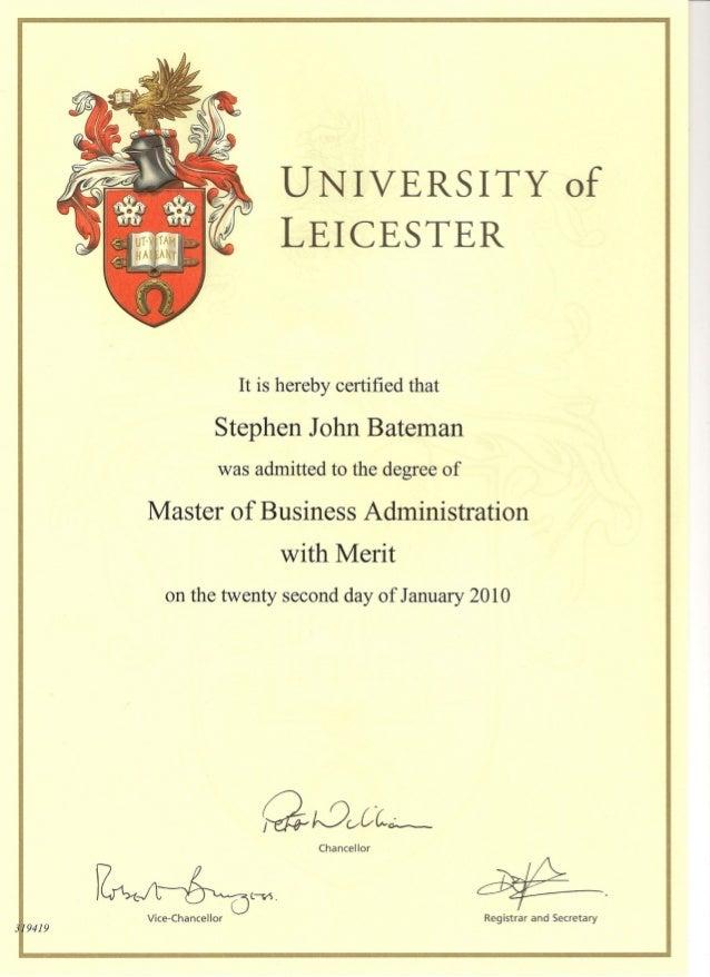Certificate – Merit Certificate Comments